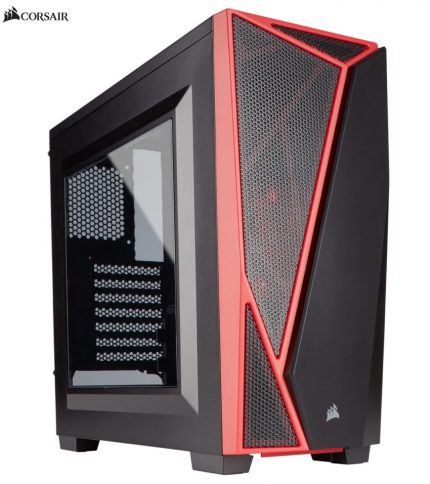 CORSAIR SPEC 04 MID TOWER CASE RED/BLACK