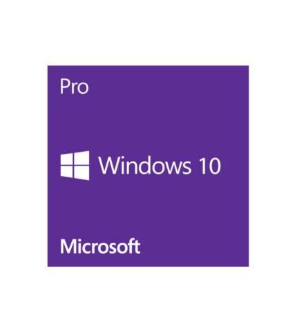 Microsoft Windows 10 PRO - Code/medialess