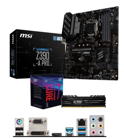 Upgrade Kit – Intel I7 8700