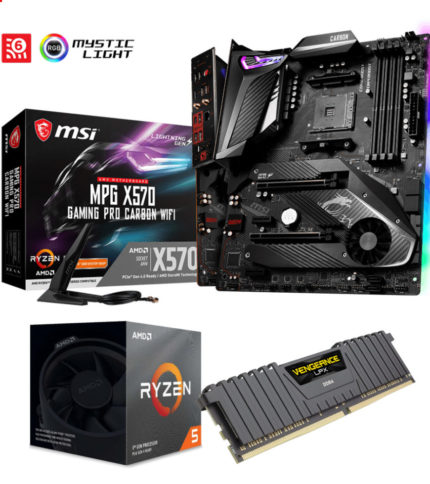 Upgrade Kit– AMD Ryzen 5 3600/16GB RAM/X570 Motherboard
